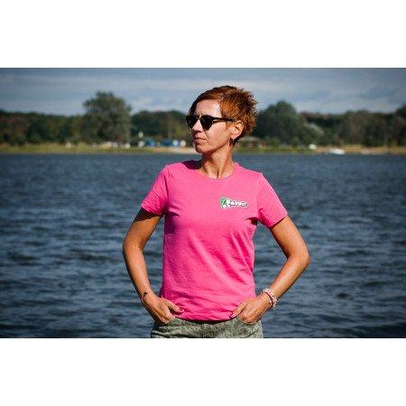 Týmové Tričko NO RESPECT KIMOT TEAM dámské růžové